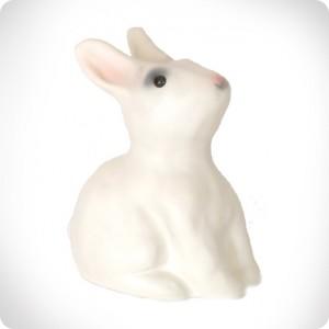 A rabbit shaped piggy bank