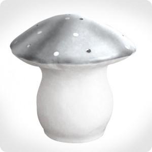 Veilleuse champignon argent