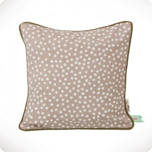 Dots grey cushion