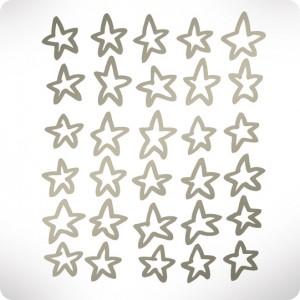 Basic silver stars