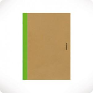 Neon green notebook
