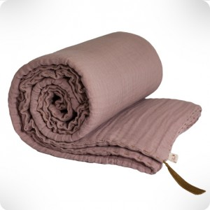 Couverture dusty pink