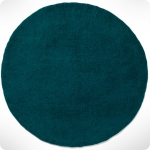 light grey round rug diam. 120cm