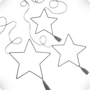 Grey stars mobile