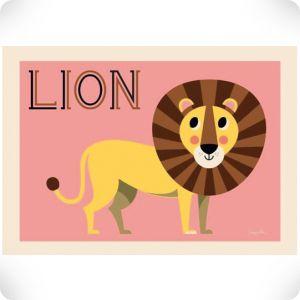 Affiche Lion