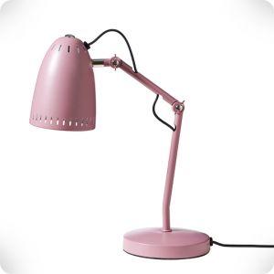 Dusty pink Dynamo lamp