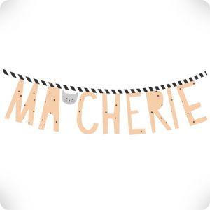 Sticker Ma chérie