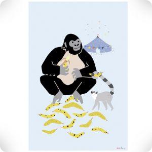 Affiche Gorille