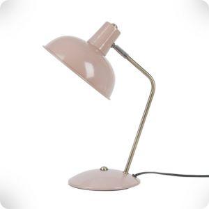 Lampe de bureau Hood rose poudré