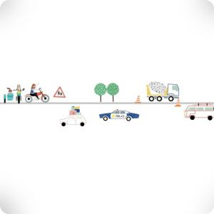 Traffic frieze