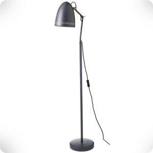 Almost black floor lamp