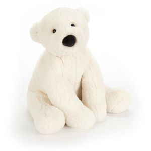 Doudou ours blanc mm