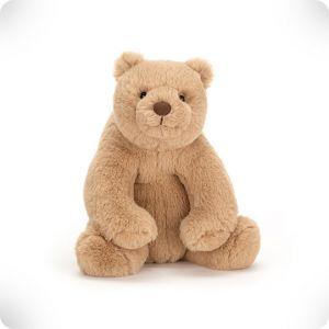 Doudou ours miel pm